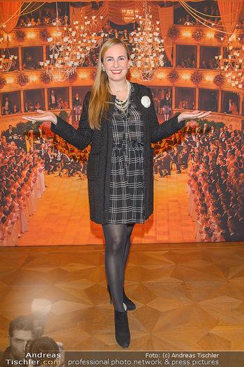 Vortanzen für den Opernball 2020 - Wiener Staatsoper - Sa 05.10.2019 - Maria GROßBAUER (GROSSBAUER)5
