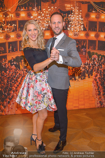 Vortanzen für den Opernball 2020 - Wiener Staatsoper - Sa 05.10.2019 - Christoph und Maria SANTNER11