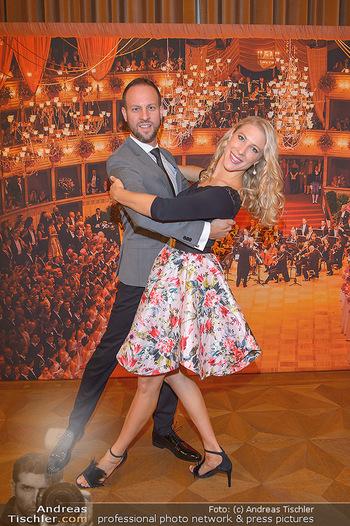 Vortanzen für den Opernball 2020 - Wiener Staatsoper - Sa 05.10.2019 - Christoph und Maria SANTNER12