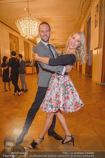 Vortanzen für den Opernball 2020 - Wiener Staatsoper - Sa 05.10.2019 - Christoph und Maria SANTNER13