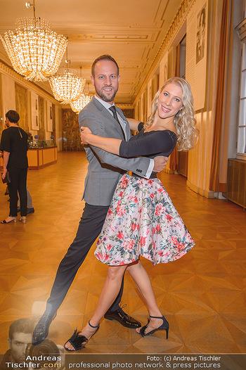 Vortanzen für den Opernball 2020 - Wiener Staatsoper - Sa 05.10.2019 - Christoph und Maria SANTNER14