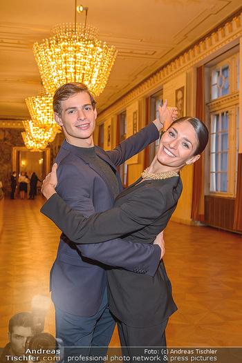 Vortanzen für den Opernball 2020 - Wiener Staatsoper - Sa 05.10.2019 - Ketevan PAPAVA, Jakob FEYFERLIK18