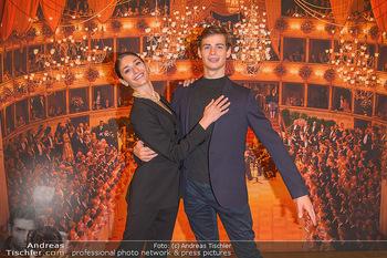 Vortanzen für den Opernball 2020 - Wiener Staatsoper - Sa 05.10.2019 - Ketevan PAPAVA, Jakob FEYFERLIK27