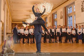 Vortanzen für den Opernball 2020 - Wiener Staatsoper - Sa 05.10.2019 - Ketevan PAPAVA, Jakob FEYFERLIK34