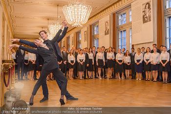 Vortanzen für den Opernball 2020 - Wiener Staatsoper - Sa 05.10.2019 - Ketevan PAPAVA, Jakob FEYFERLIK35