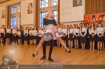 Vortanzen für den Opernball 2020 - Wiener Staatsoper - Sa 05.10.2019 - Christoph und Maria SANTNER, Debüdanten36