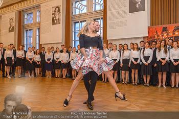 Vortanzen für den Opernball 2020 - Wiener Staatsoper - Sa 05.10.2019 - Christoph und Maria SANTNER, Debüdanten37