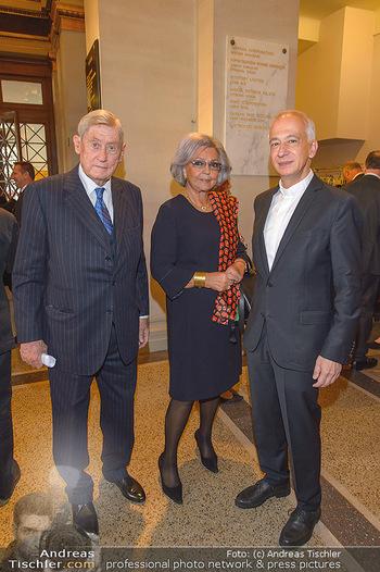 200 Jahre Erste Bank - Musikverein Wien - So 06.10.2019 - Brigitte und Hannes ANDROSCH, Michael LANDAU25