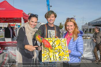 Promi Bungee Jumping - Parndorf Fashion Outlet - Fr 11.10.2019 - Tim Tom NORDEN (alias Thomas SEIKMANN), Tanja DUHOVICH, Angelika1