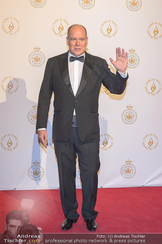 Fürst Albert II. von Monaco - 2019-10-11 - Hofburg Wien