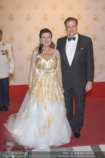 Fürst Albert II. von Monaco - Hofburg Wien - Fr 11.10.2019 - Sandor und Herta Margarete HABSBURG-LOTHRINGEN2