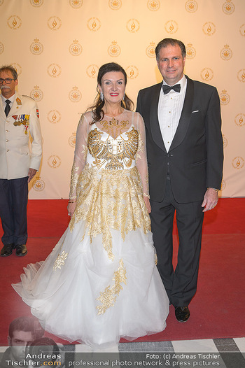 Fürst Albert II. von Monaco - Hofburg Wien - Fr 11.10.2019 - Sandor und Herta Margarete HABSBURG-LOTHRINGEN3