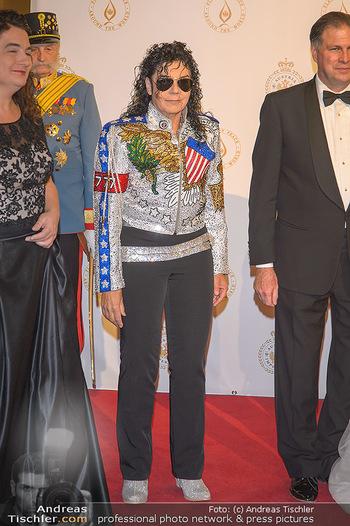 Fürst Albert II. von Monaco - Hofburg Wien - Fr 11.10.2019 - Michael JACKSON Doppelgängerin8