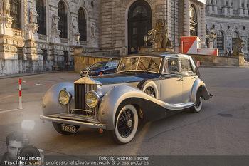Fürst Albert II. von Monaco - Hofburg Wien - Fr 11.10.2019 - Oldtimer12