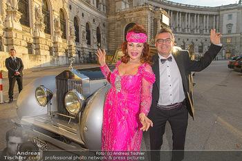 Fürst Albert II. von Monaco - Hofburg Wien - Fr 11.10.2019 - Tamara TROJANI, Konstantin SCHENK13