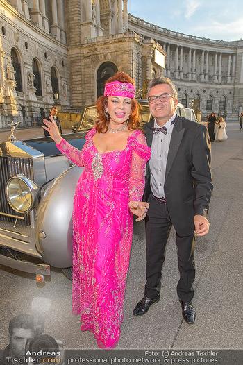 Fürst Albert II. von Monaco - Hofburg Wien - Fr 11.10.2019 - Tamara TROJANI, Konstantin SCHENK14