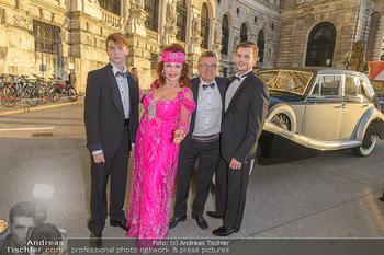 Fürst Albert II. von Monaco - Hofburg Wien - Fr 11.10.2019 - Tamara TROJANI mit Kindern, Konstantin SCHENK15