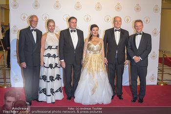 Fürst Albert II. von Monaco - Hofburg Wien - Fr 11.10.2019 - Sandor und Herta Margarete HABSBURG-LOTHRINGEN, Martina und Wern22