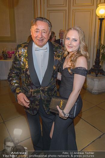 Richard Lugner 87er - Palais Auersperg - Sa 12.10.2019 - Richard LUGNER mit Tochter Jacqueline14