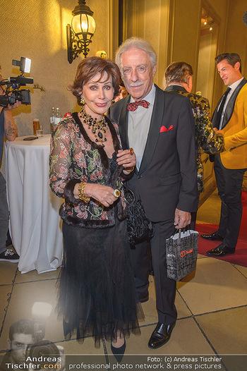 Richard Lugner 87er - Palais Auersperg - Sa 12.10.2019 - Edith LEYRER, Heinz Horst BUSCH18
