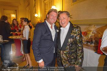 Richard Lugner 87er - Palais Auersperg - Sa 12.10.2019 - Richard LUGNER, Christian MAREK25