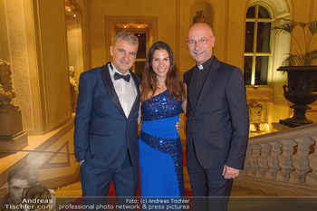 Richard Lugner 87er - Palais Auersperg - Sa 12.10.2019 - Arthur und Kristina WORSEG, Anton Toni FABER31