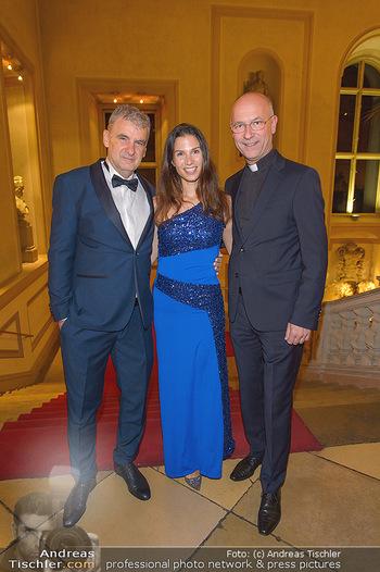 Richard Lugner 87er - Palais Auersperg - Sa 12.10.2019 - Arthur und Kristina WORSEG, Anton Toni FABER32