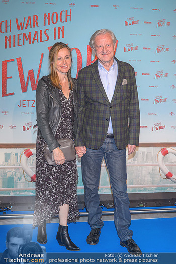 Kinopremiere ´Ich war noch niemals in New York´ - Hollywood Megaplexx Gasometer, Wien - Di 15.10.2019 - Freddy BURGER mit Ehefrau78