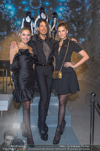 Calzedonia - a night of Glitz & Glamour - Palais Coburg, Wien - Mi 16.10.2019 - Victoria SWAROVSKI mit Schwester Paulina, Jorge GONZALEZ88