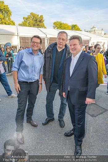 Game City Tag 1 - Rathaus Wien - Fr 18.10.2019 - Bürgermeister Michael LUDWIG und Stadtradt Jürgen CZERNOHORSZK343