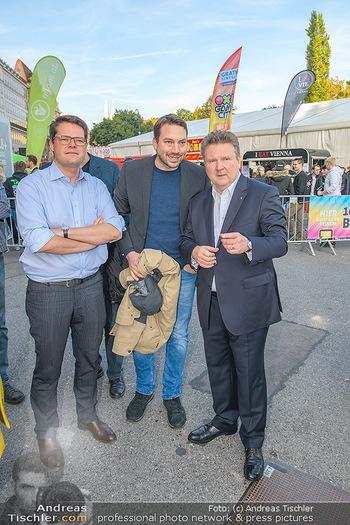 Game City Tag 1 - Rathaus Wien - Fr 18.10.2019 - Bürgermeister Michael LUDWIG und Stadtradt Jürgen CZERNOHORSZK344