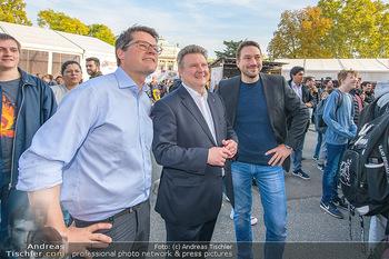 Game City Tag 1 - Rathaus Wien - Fr 18.10.2019 - Bürgermeister Michael LUDWIG und Stadtradt Jürgen CZERNOHORSZK345