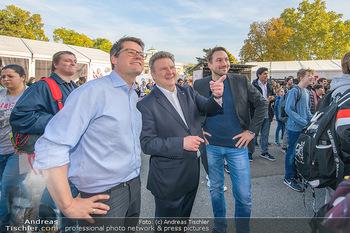 Game City Tag 1 - Rathaus Wien - Fr 18.10.2019 - Bürgermeister Michael LUDWIG und Stadtradt Jürgen CZERNOHORSZK346