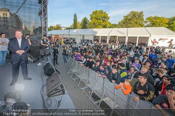 Game City Tag 1 - Rathaus Wien - Fr 18.10.2019 - Bürgermeister Michael LUDWIG und Stadtradt Jürgen CZERNOHORSZK351
