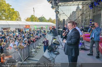 Game City Tag 1 - Rathaus Wien - Fr 18.10.2019 - Bürgermeister Michael LUDWIG und Stadtradt Jürgen CZERNOHORSZK352