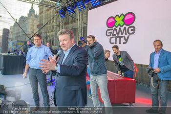 Game City Tag 1 - Rathaus Wien - Fr 18.10.2019 - Bürgermeister Michael LUDWIG und Stadtradt Jürgen CZERNOHORSZK353