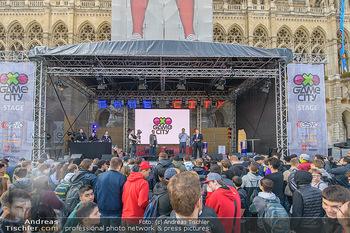 Game City Tag 1 - Rathaus Wien - Fr 18.10.2019 - Bürgermeister Michael LUDWIG und Stadtradt Jürgen CZERNOHORSZK354