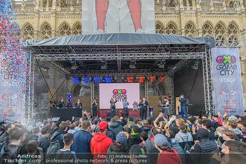 Game City Tag 1 - Rathaus Wien - Fr 18.10.2019 - Bürgermeister Michael LUDWIG und Stadtradt Jürgen CZERNOHORSZK355