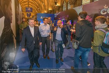 Game City Tag 1 - Rathaus Wien - Fr 18.10.2019 - Bürgermeister Michael LUDWIG und Stadtradt Jürgen CZERNOHORSZK362