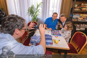 Game City Tag 1 - Rathaus Wien - Fr 18.10.2019 - Bürgermeister Michael LUDWIG und Stadtradt Jürgen CZERNOHORSZK370