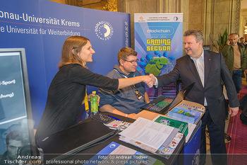 Game City Tag 1 - Rathaus Wien - Fr 18.10.2019 - Bürgermeister Michael LUDWIG und Stadtradt Jürgen CZERNOHORSZK373