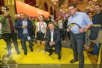 Game City Tag 1 - Rathaus Wien - Fr 18.10.2019 - Bürgermeister Michael LUDWIG und Stadtradt Jürgen CZERNOHORSZK378