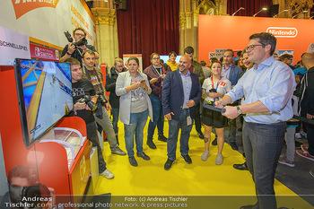 Game City Tag 1 - Rathaus Wien - Fr 18.10.2019 - Bürgermeister Michael LUDWIG und Stadtradt Jürgen CZERNOHORSZK385