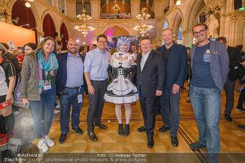 Game City Tag 1 - Rathaus Wien - Fr 18.10.2019 - Bürgermeister Michael LUDWIG und Stadtradt Jürgen CZERNOHORSZK388