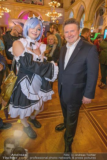 Game City Tag 1 - Rathaus Wien - Fr 18.10.2019 - Bürgermeister Michael LUDWIG und Stadtradt Jürgen CZERNOHORSZK393