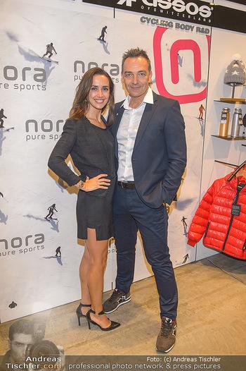 Winteropening - Nora Pure Sports Wien - Sa 19.10.2019 - Harald SAUER mit Ehefrau Alexandra2