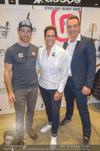 Winteropening - Nora Pure Sports Wien - Sa 19.10.2019 - Michaela DORFMEISTER, Marc DIGRUBER, Harald SAUER33
