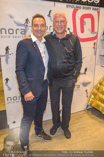 Winteropening - Nora Pure Sports Wien - Sa 19.10.2019 - Harald SAUER, Toni POLSTER137