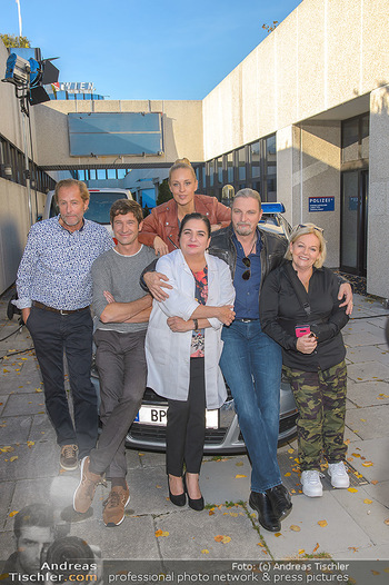 Dreharbeiten Soko Donau - Handelskai 265, Wien - Do 24.10.2019 - Team Brigitte KREN, Lilian KLEBOW, Andreas KIENDL, Stefan JÜRGE11