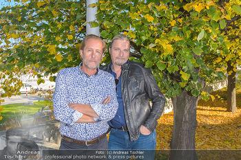 Dreharbeiten Soko Donau - Handelskai 265, Wien - Do 24.10.2019 - Helmut BOHATSCH, Stefan JÜRGENS22